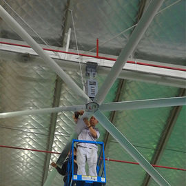 Ventilatori da soffitto professionali di HVLS 20ft diametro di lunghezza 6,1 m. con 6 lame